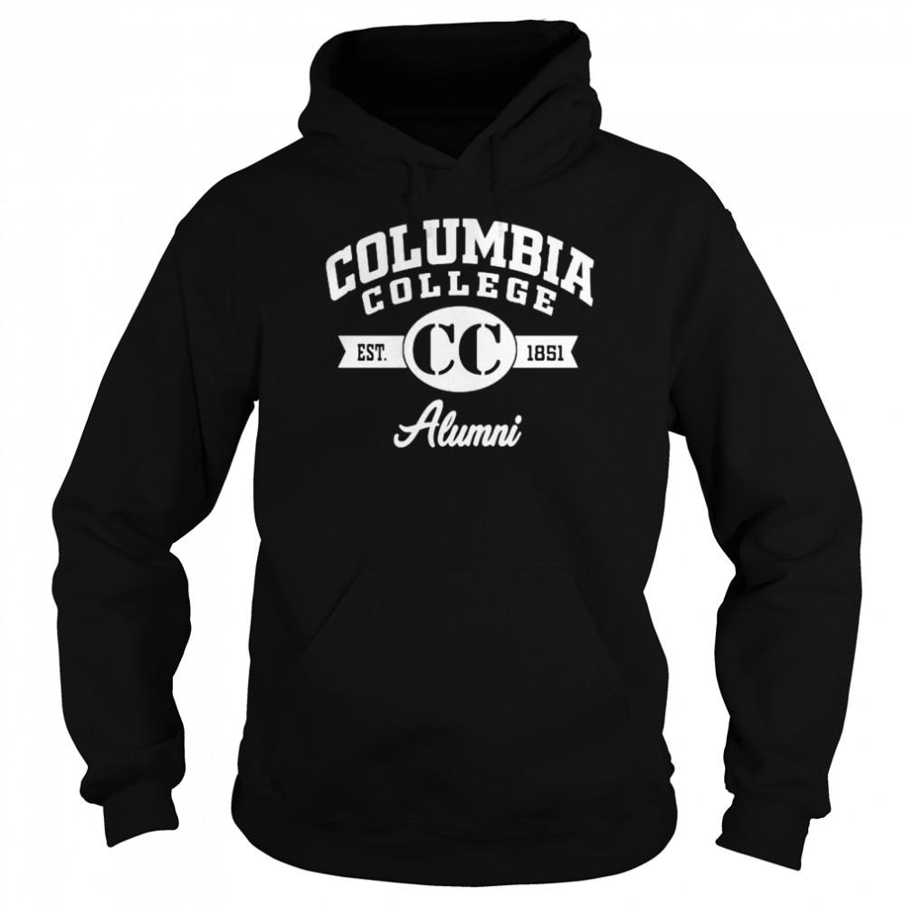 Columbia College Alumni 1851  Unisex Hoodie