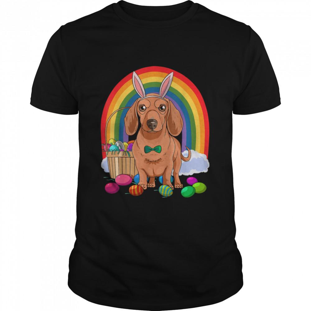 Dachshund Easter Eggs Bunny Dog Shirt