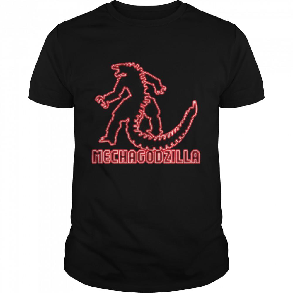 Godzilla – Kong vs Mechagodzilla Neon shirt