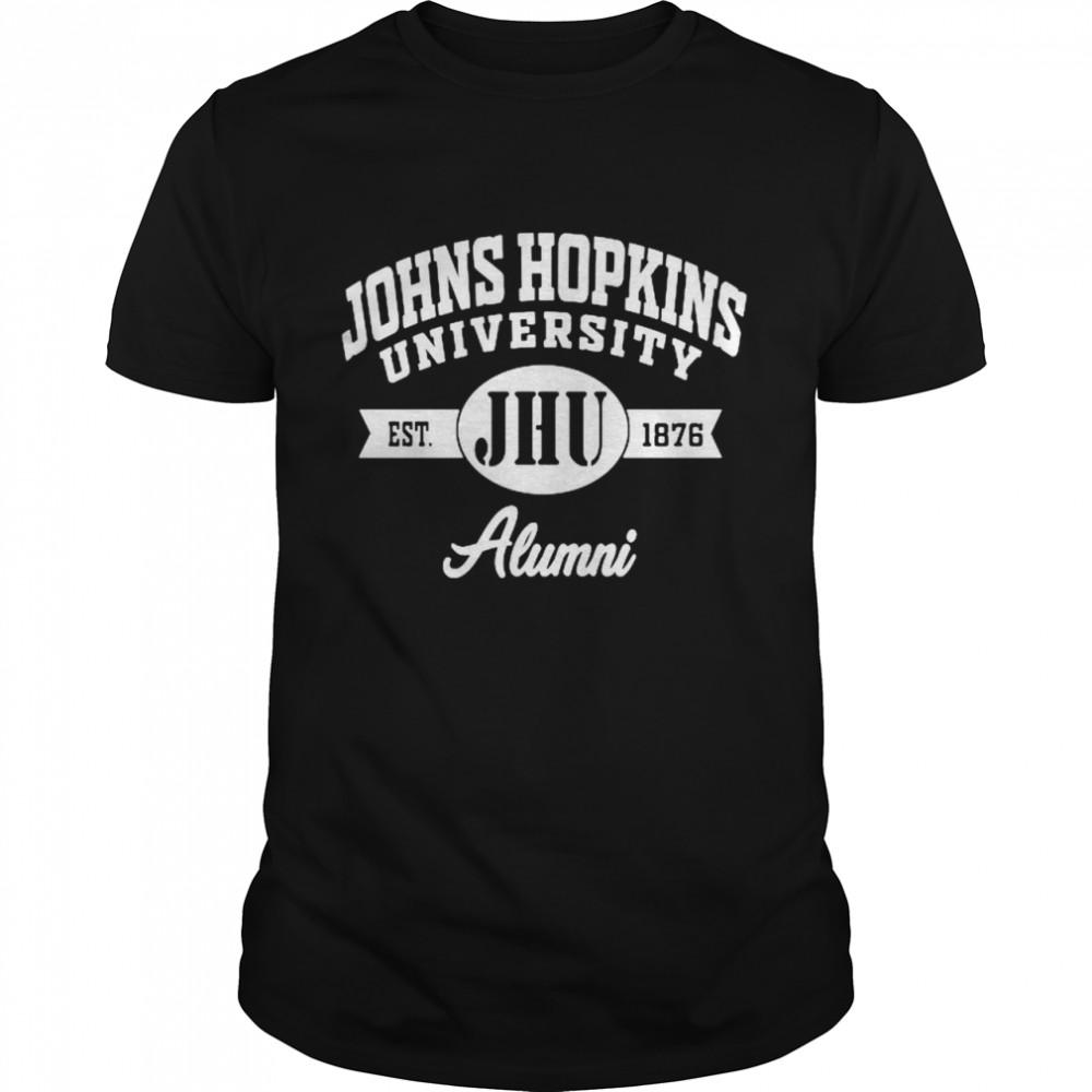 John Hopkins University Alumni 1876 Shirt