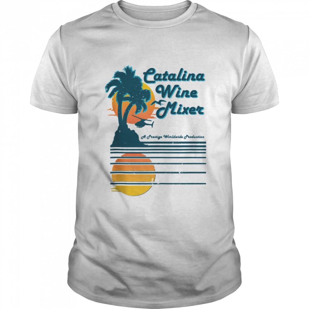 Mixer Catalina Wine Palm and beach shirt