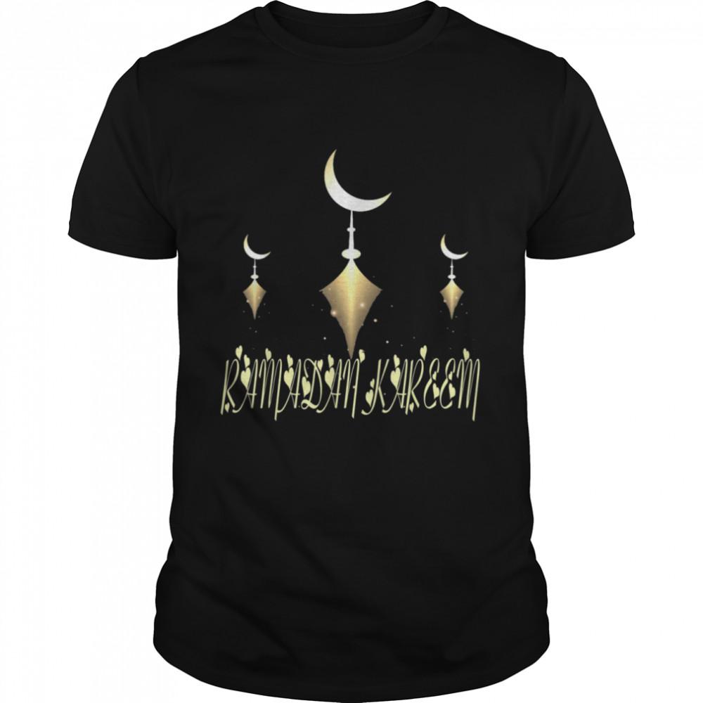 Muslim Fasting Ramadan Mubarak Happy Ramadan Kareem Shirt