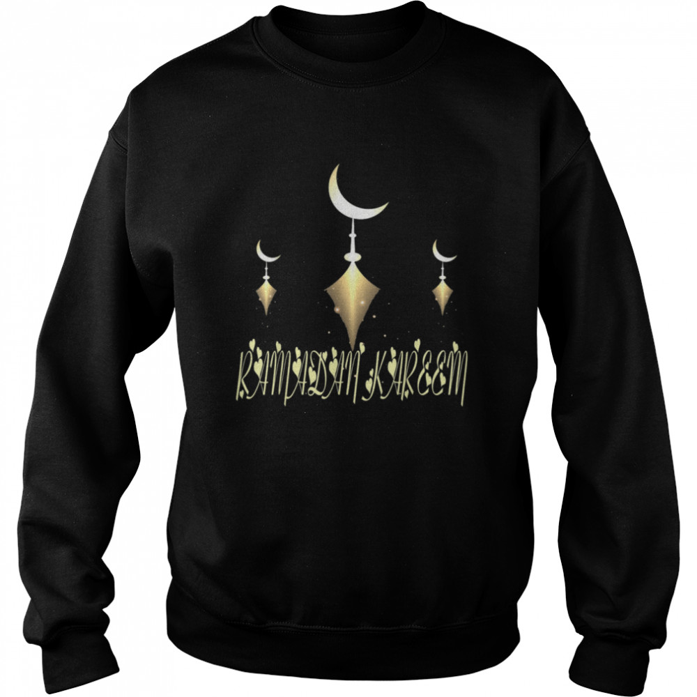 Muslim Fasting Ramadan Mubarak Happy Ramadan Kareem  Unisex Sweatshirt