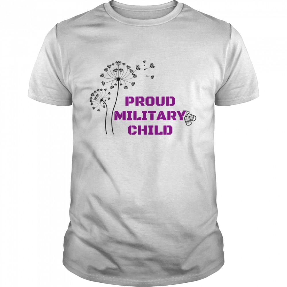 Proud Military Child Shirt