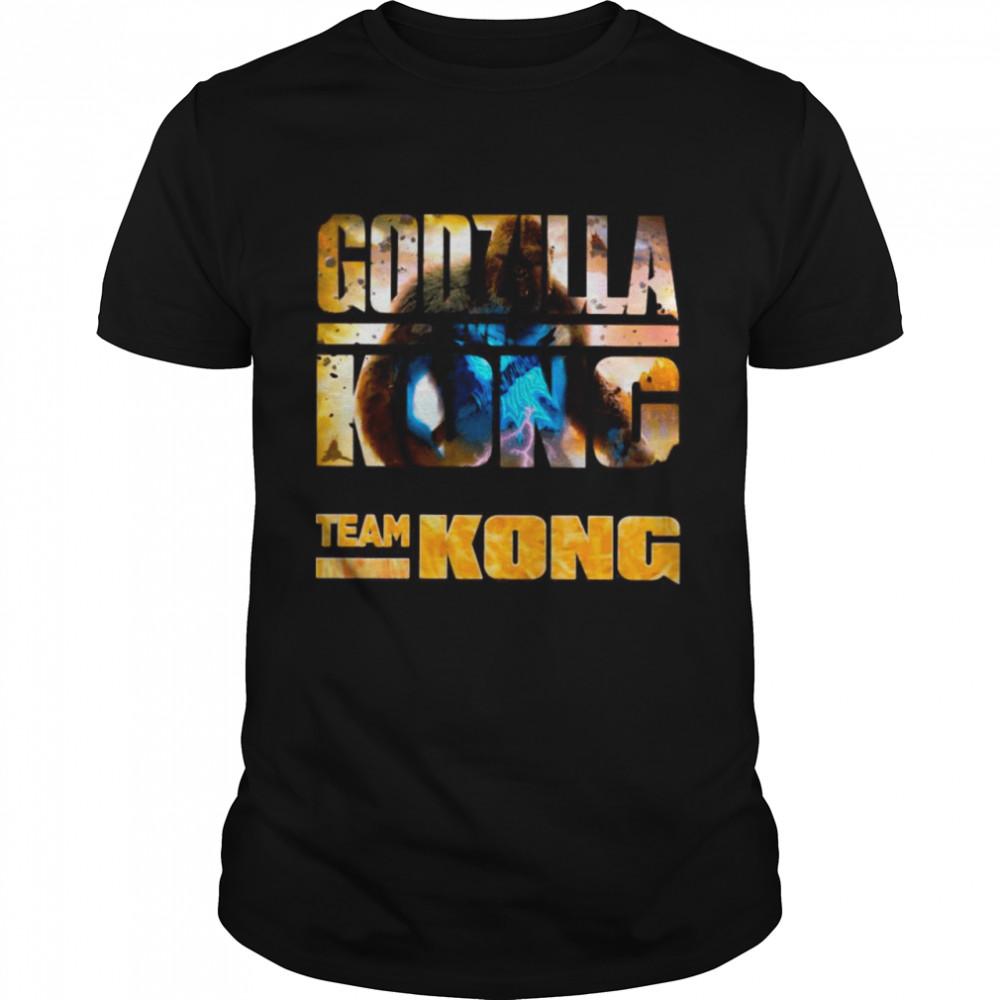 The Godzilla Vs Kong With Team Kong Lose shirt Classic Men's T-shirt