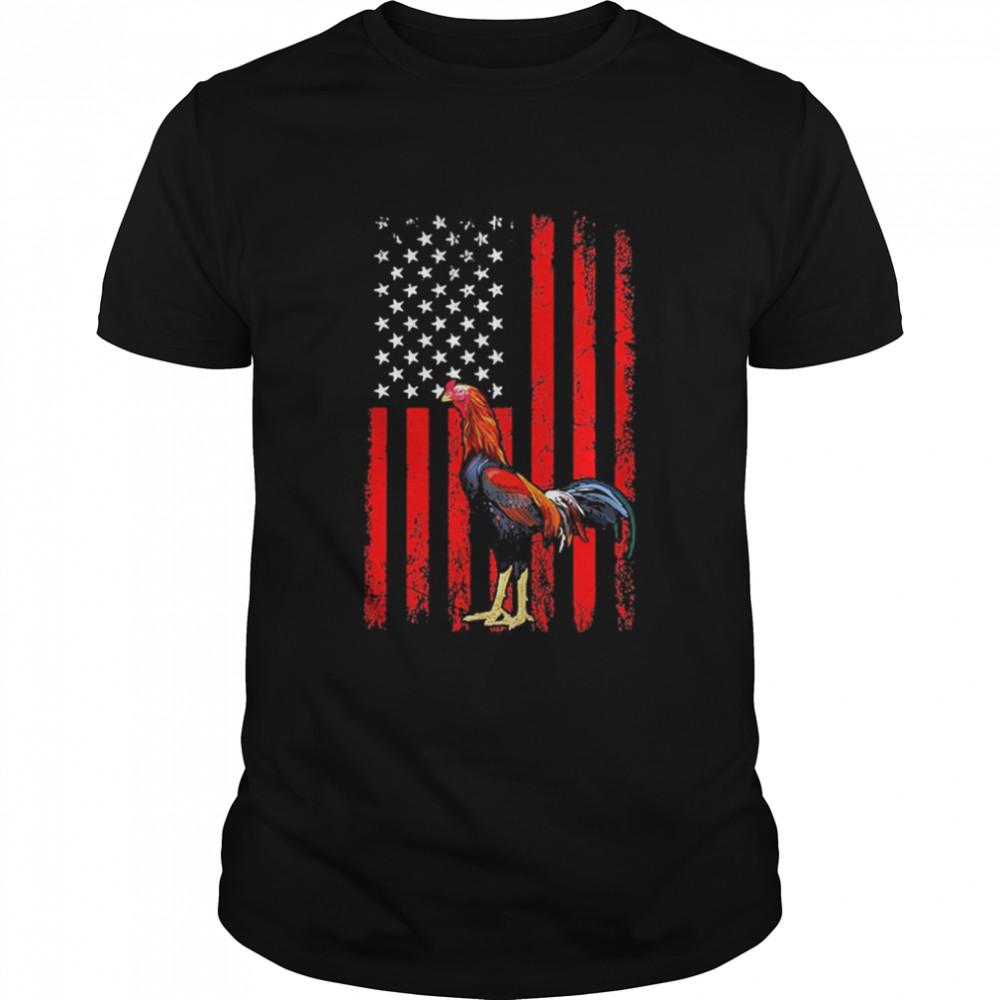 2021 Chicken American Flag shirt