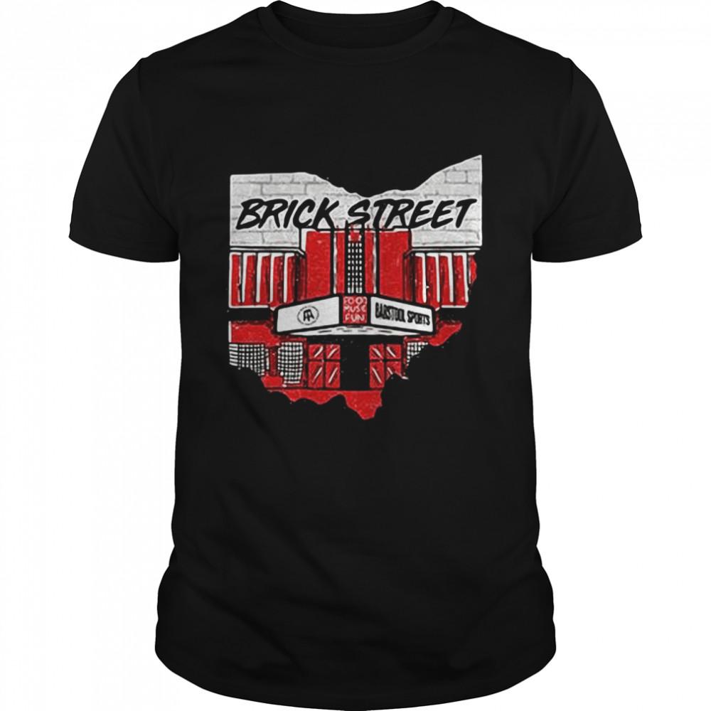 Barstool Best Bar 2021 Brick Street T-shirt