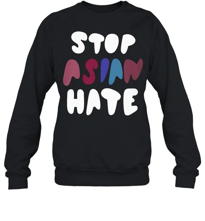 Dame stop asian hate tshirt Unisex Sweatshirt