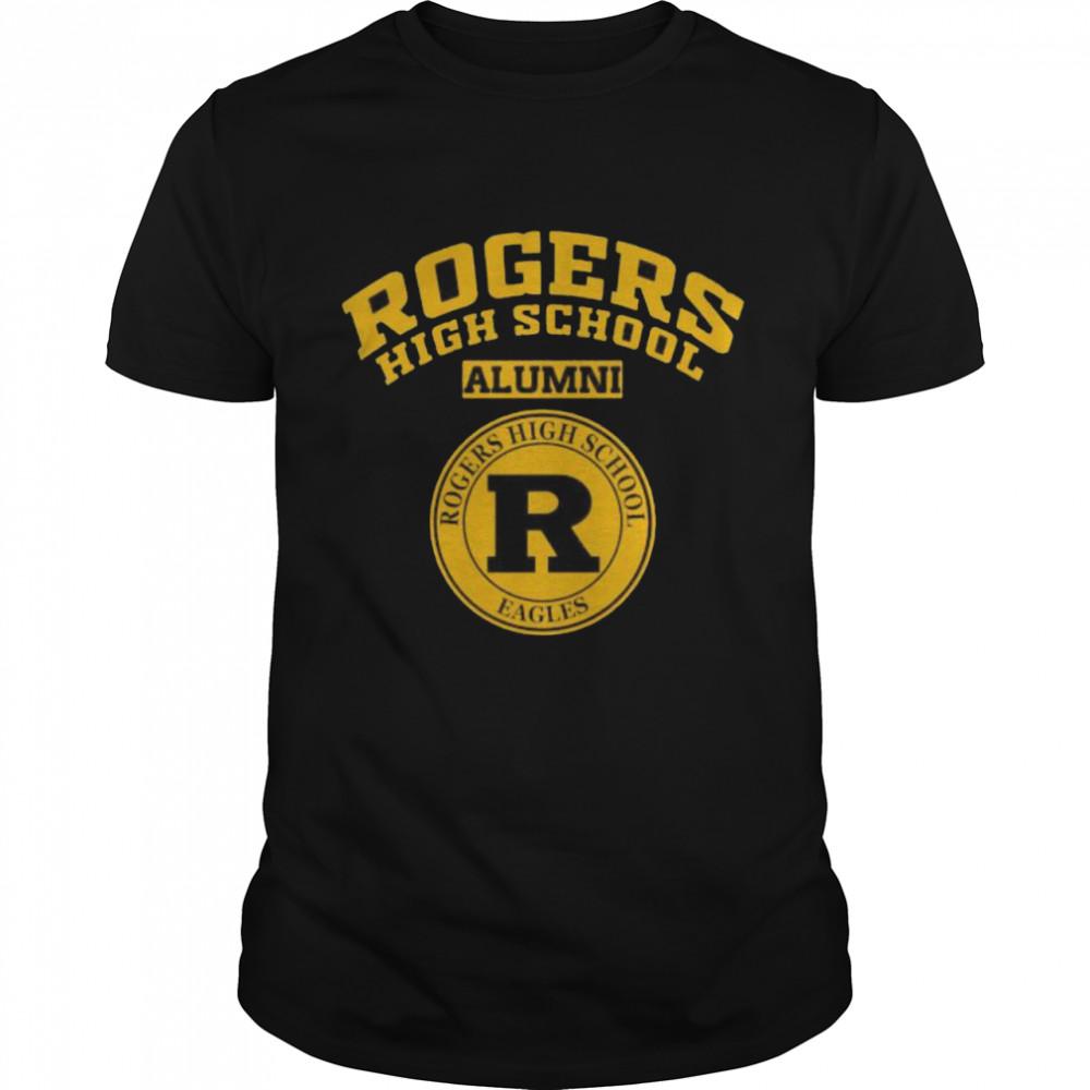 Rogers High School Logo Alumni Shirt