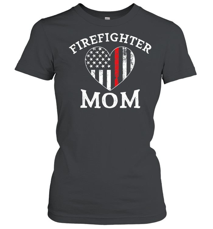 The Thin Red Line Flag Mother Day  Classic Women's T-shirt