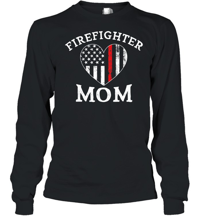 The Thin Red Line Flag Mother Day  Long Sleeved T-shirt