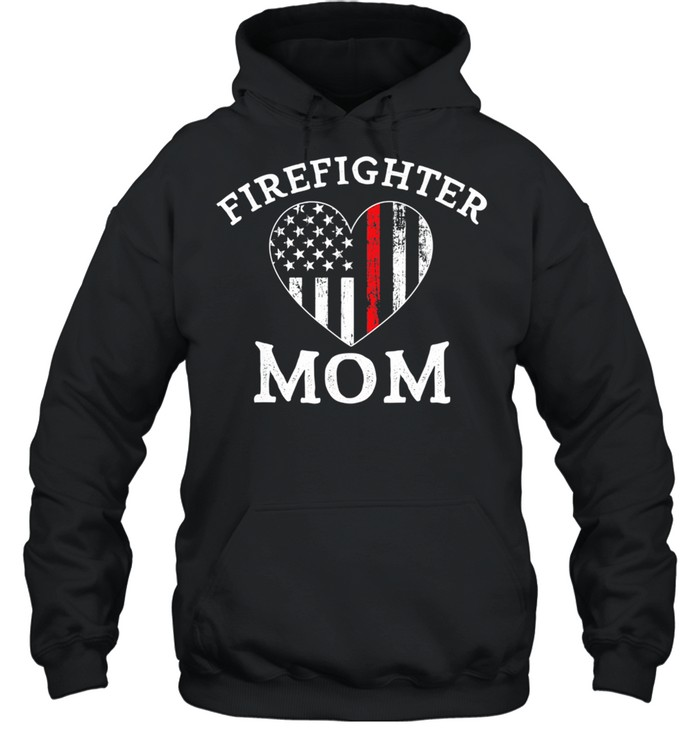 The Thin Red Line Flag Mother Day  Unisex Hoodie