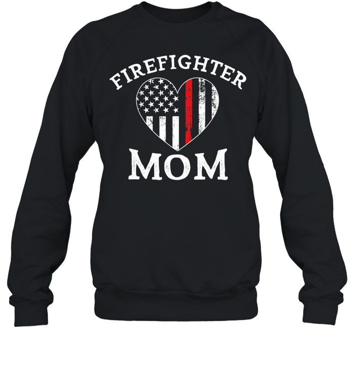 The Thin Red Line Flag Mother Day  Unisex Sweatshirt