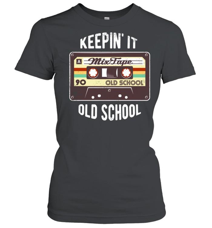 80s party costume Hip Hop Mixtape shirt Classic Women's T-shirt