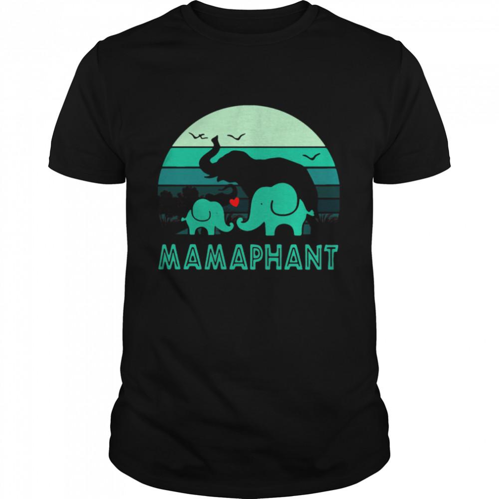 Elephant Mamaphant Mothers Day shirt