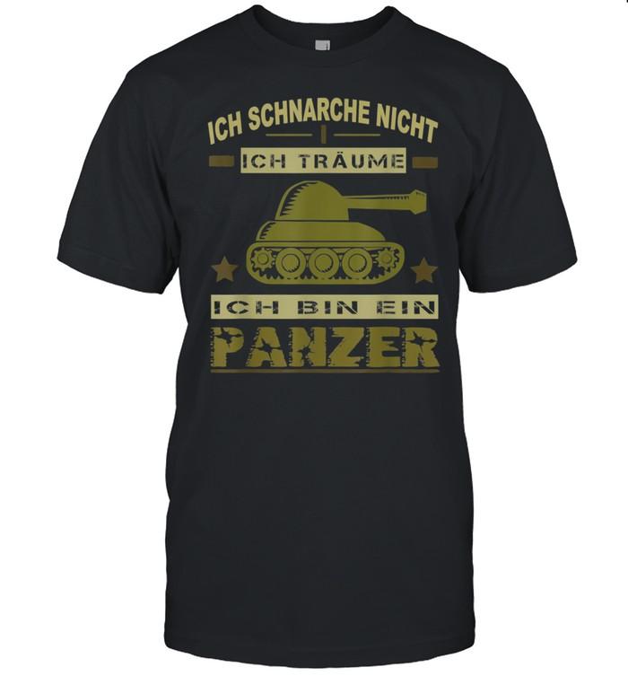 Herren Panzer Sprüche Panzerfahrer Soldat Armee Militär Zeitsoldat Shirt