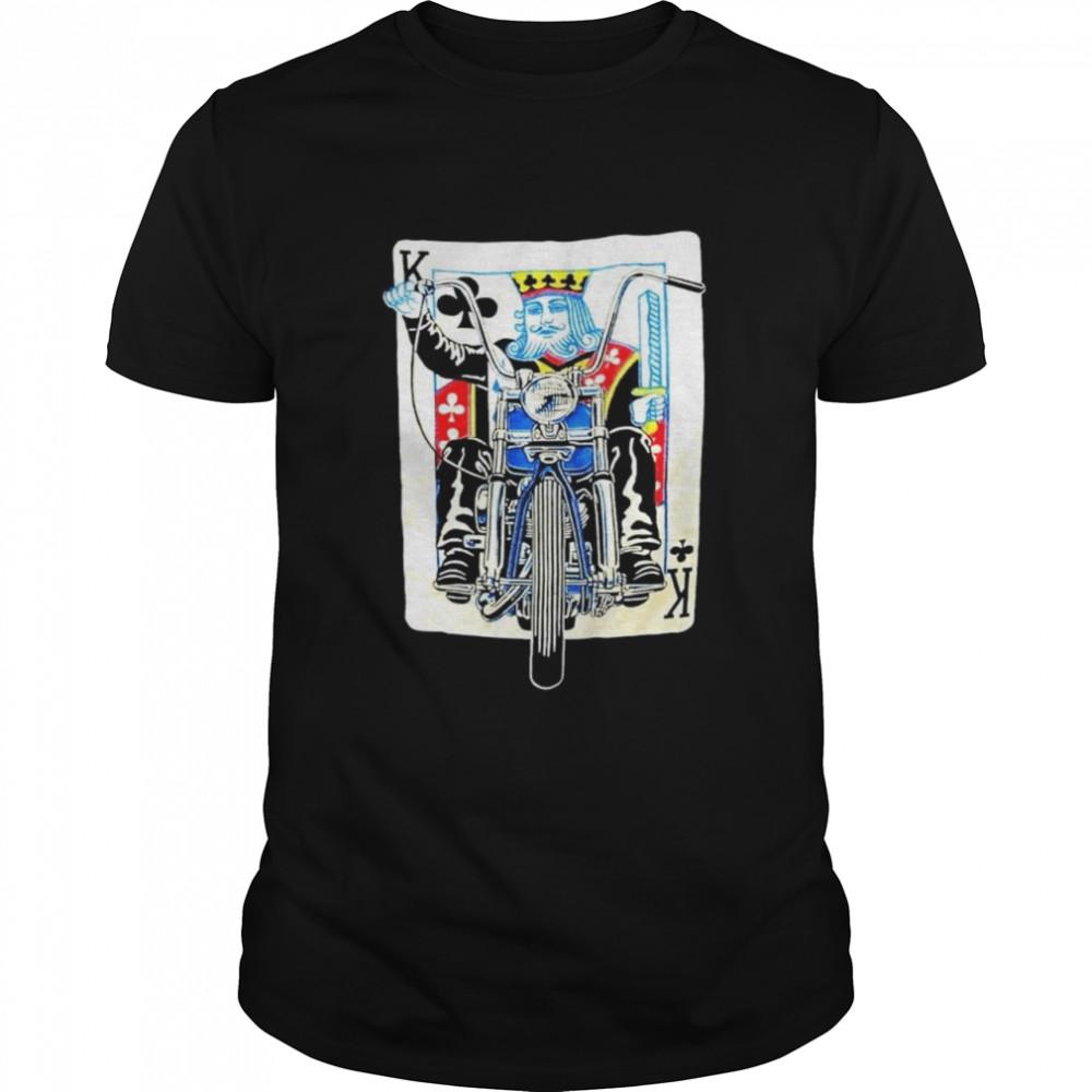 K card Biker shirt
