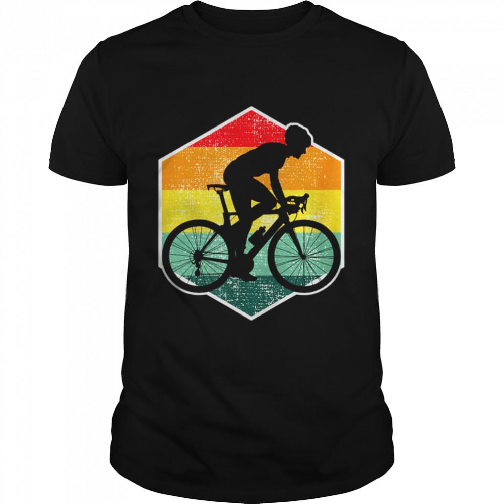 Racing bike cyclist road bike racing time trial shirt