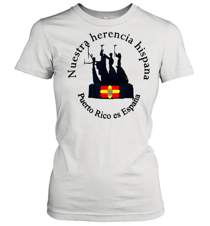 Reunificación con España  Classic Women's T-shirt