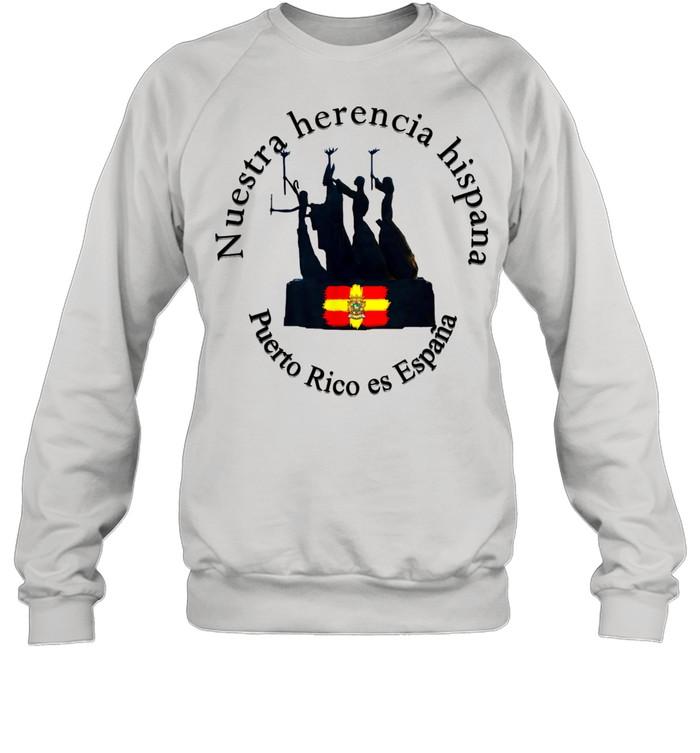 Reunificación con España  Unisex Sweatshirt