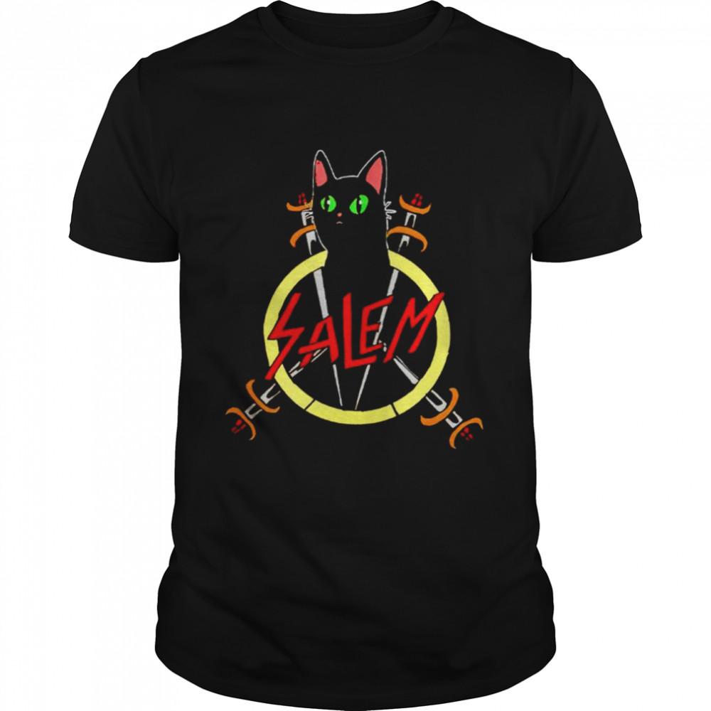 Salem the Slayer cat shirt Classic Men's T-shirt