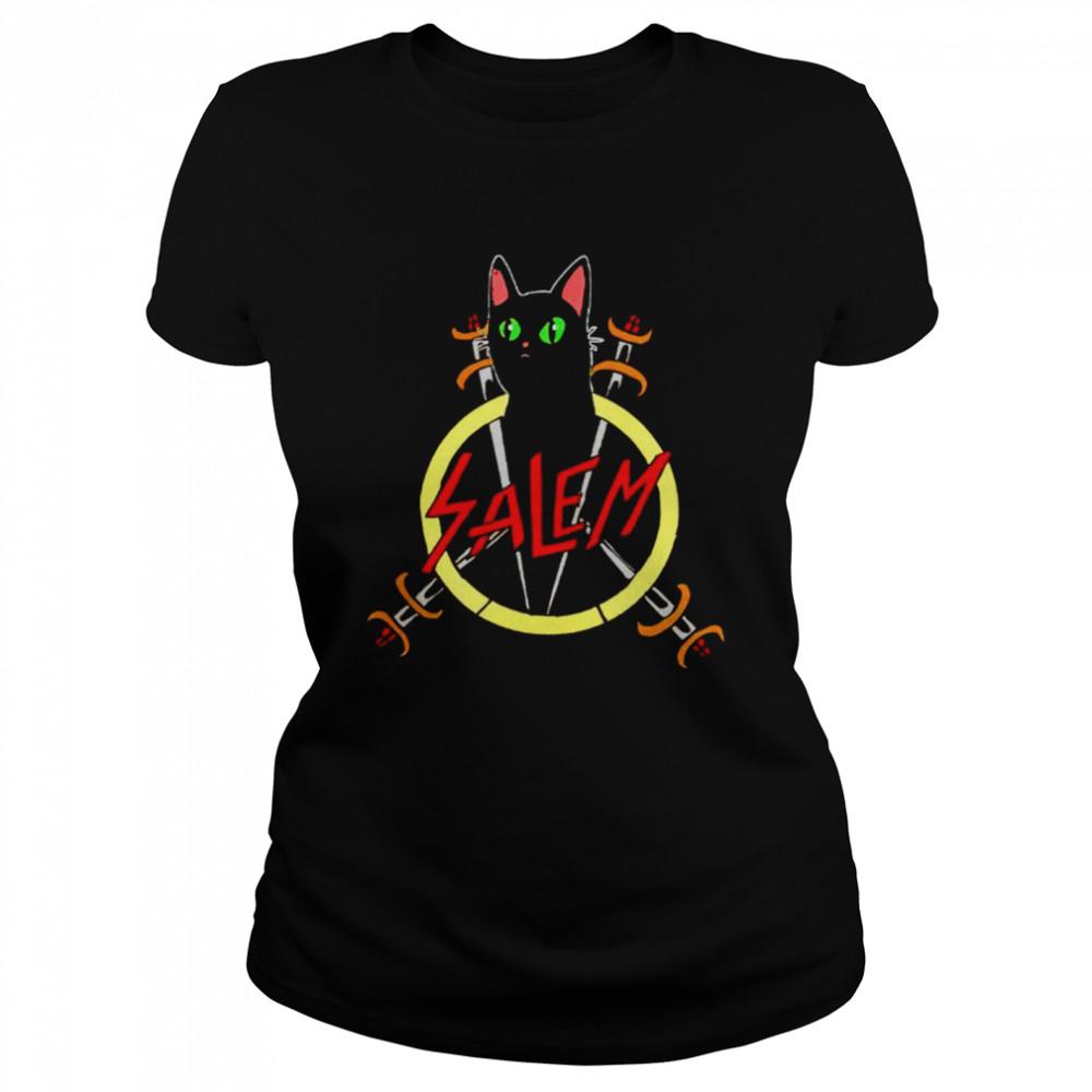 Salem the Slayer cat shirt Classic Women's T-shirt