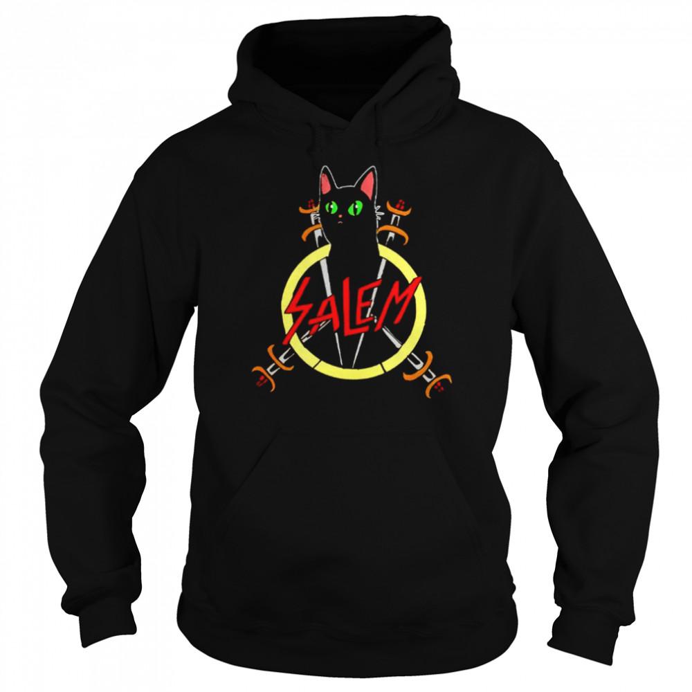 Salem the Slayer cat shirt Unisex Hoodie
