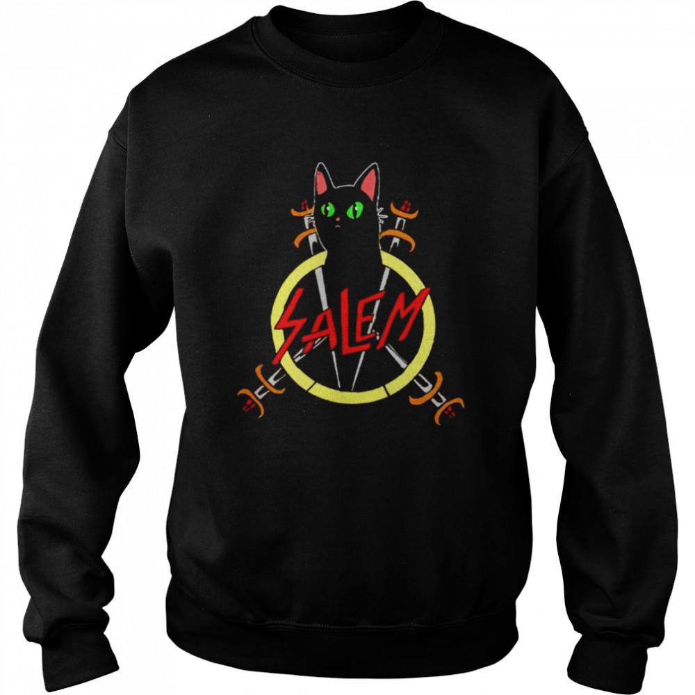 Salem the Slayer cat shirt Unisex Sweatshirt