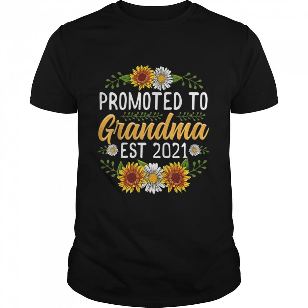 Sunflower Promoted Mamaw 2021 shirt