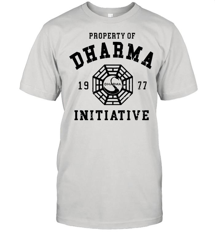 Surprised Dharma 1977 Initiative shirt