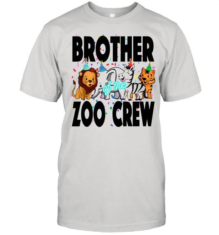 Zoo jungle birthday family costume party theme BROTHER  Classic Men's T-shirt