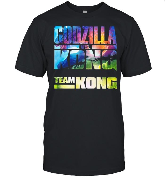 Godzilla Kong Team Kong The Monster Shirt