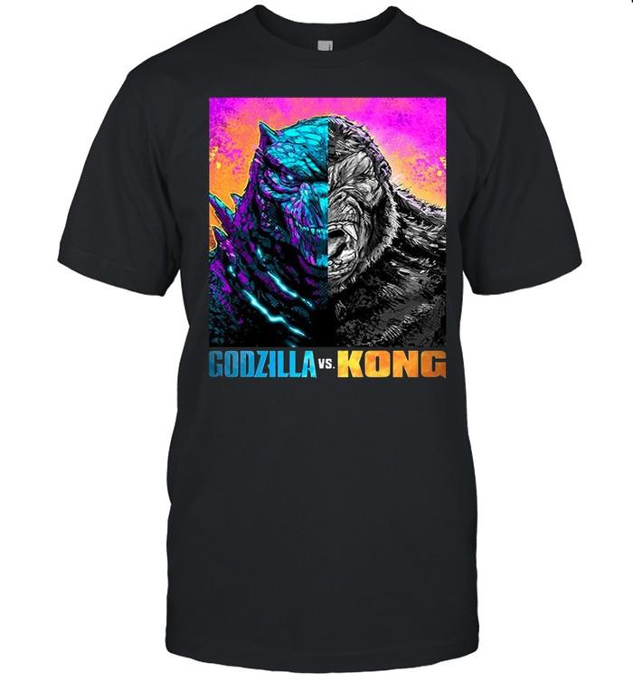 Godzilla Vs Kong Black shirt
