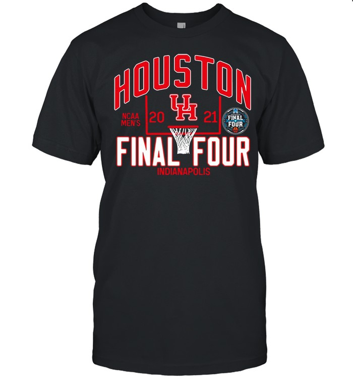 Houston Cougars 2021 NCAA Mens Basketball Tournament March Madness Final Four Bound Tri-Blend shirt