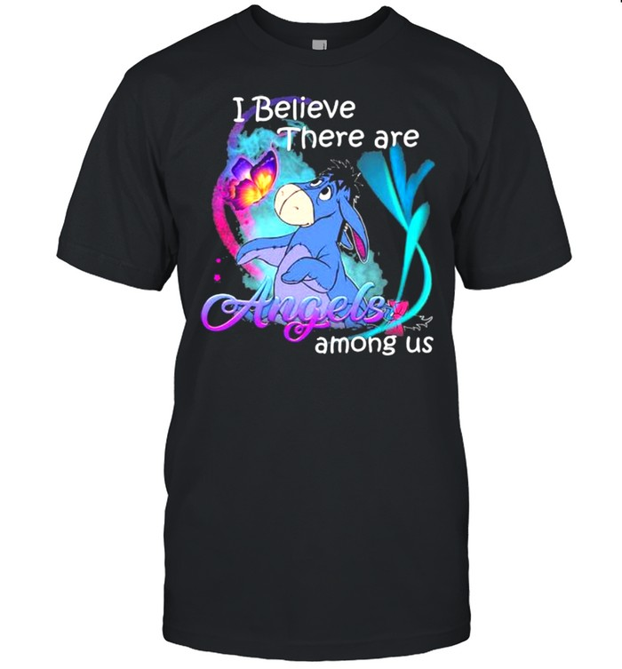 I Believe There Are Angels Among Us Donkey Shirt
