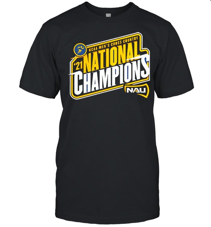 Northern Arizona Lumberjacks Fanatics Branded 2021 Ncaa Men's Cross Country National Champions Shirt