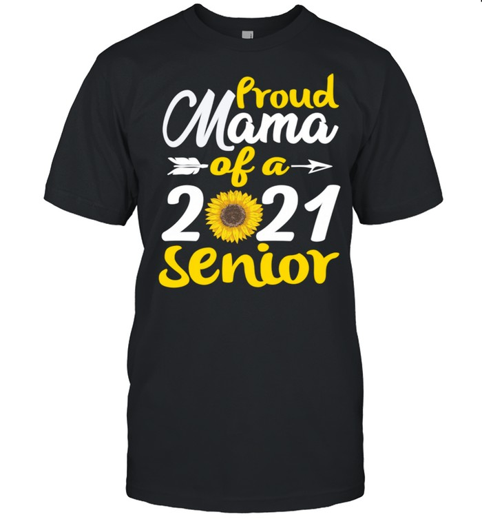 Proud Mama Of A 2021 Senior Graduates Mothers Day  Classic Men's T-shirt