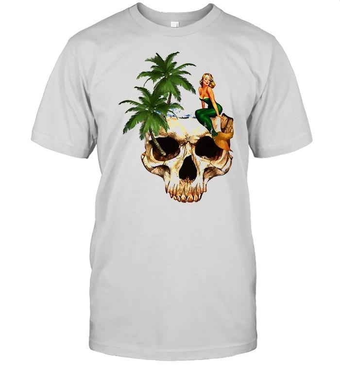 Skull be a mermaid shirt