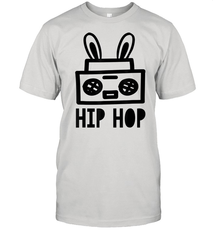 Toddler Easter Hip Hop Bunny Ears And Girls Shirt