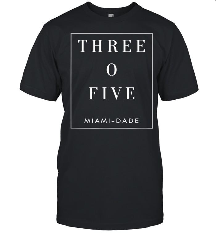 Miami Dade Florida Area Code 305 shirt Classic Men's T-shirt