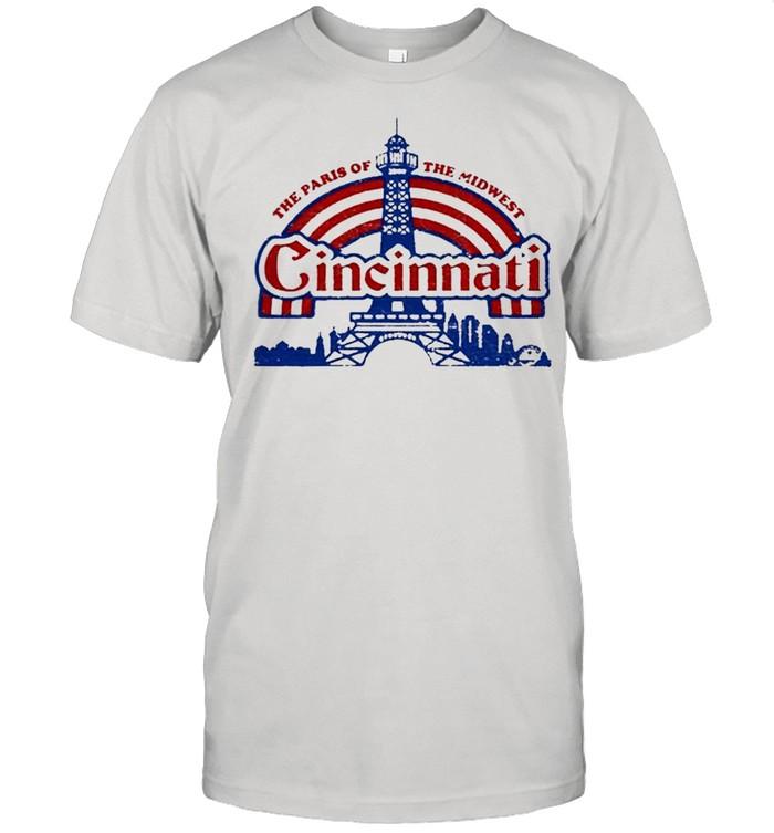 The Paris Of The Midwest Cincinnati shirt Classic Men's T-shirt