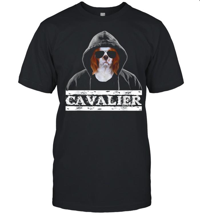 Adorable Celebrity Cavalier king Charles Spaniel Dog  Classic Men's T-shirt