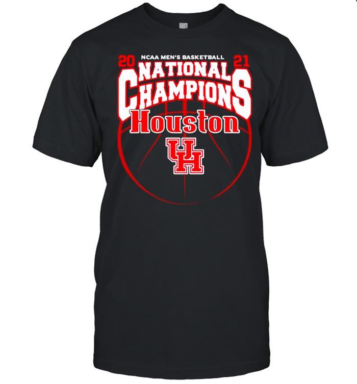 Houston Cougars 2021 NCAA Men's Basketball National Champions shirt
