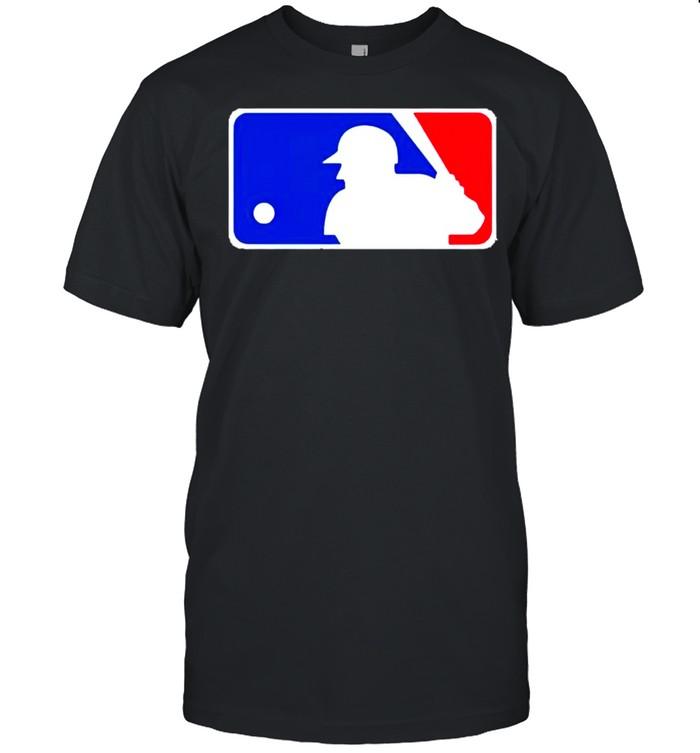 Major League Baseball Logo shirt