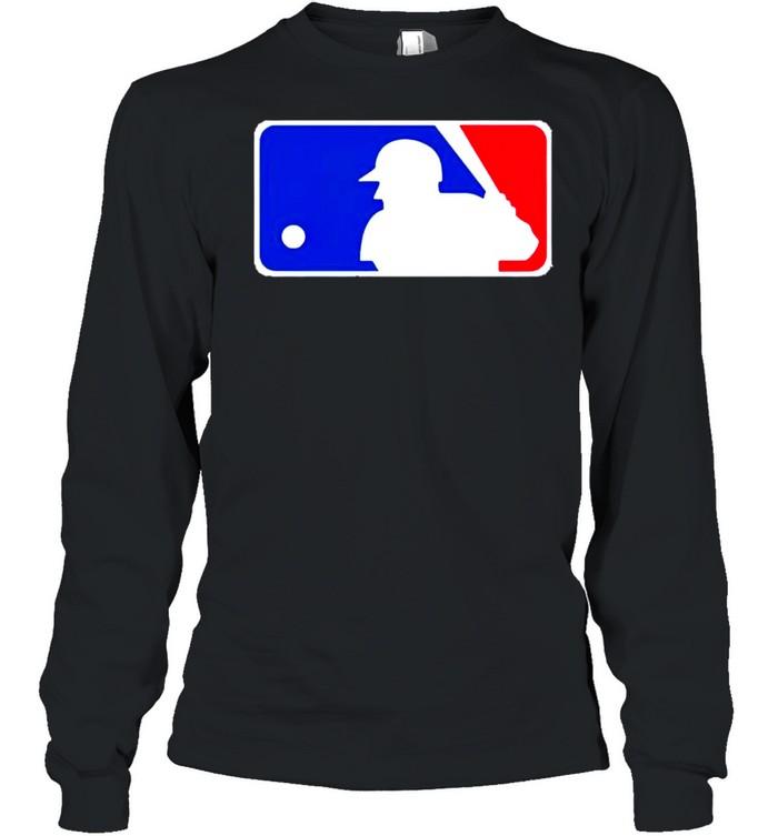 Major League Baseball Logo shirt Long Sleeved T-shirt