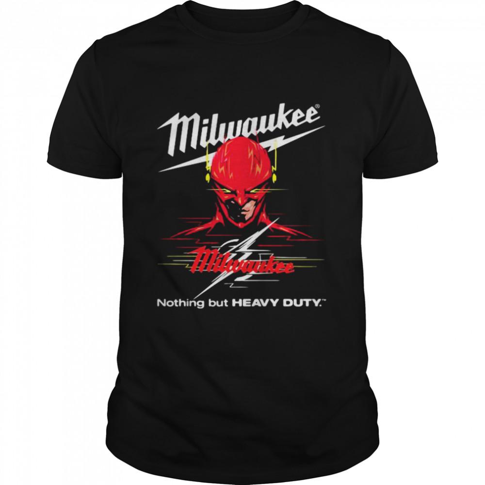 Milwaukee Nothing But Heavy Deadpool Shirt