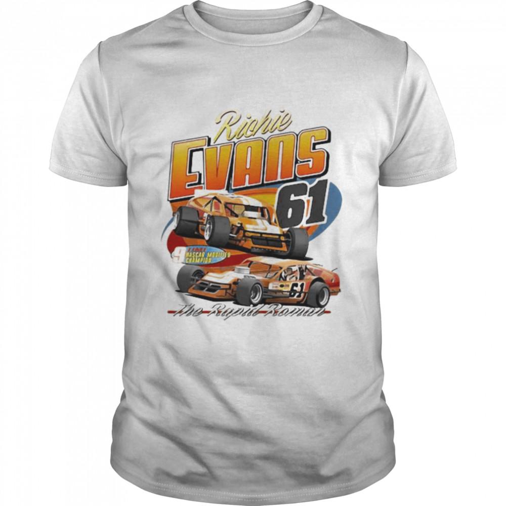 Nascar Richie Evans The Rapid Raman  Classic Men's T-shirt