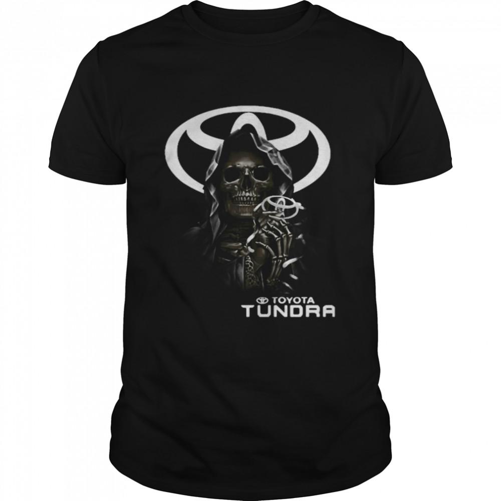 Skull With Toyota Tundra Logo Shirt