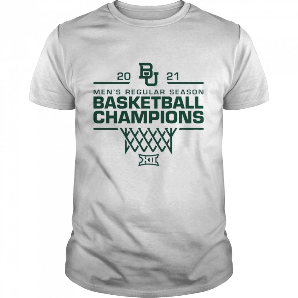 Baylor Bears 2021 Big 12 Mens Basketball Regular Season Champions shirt