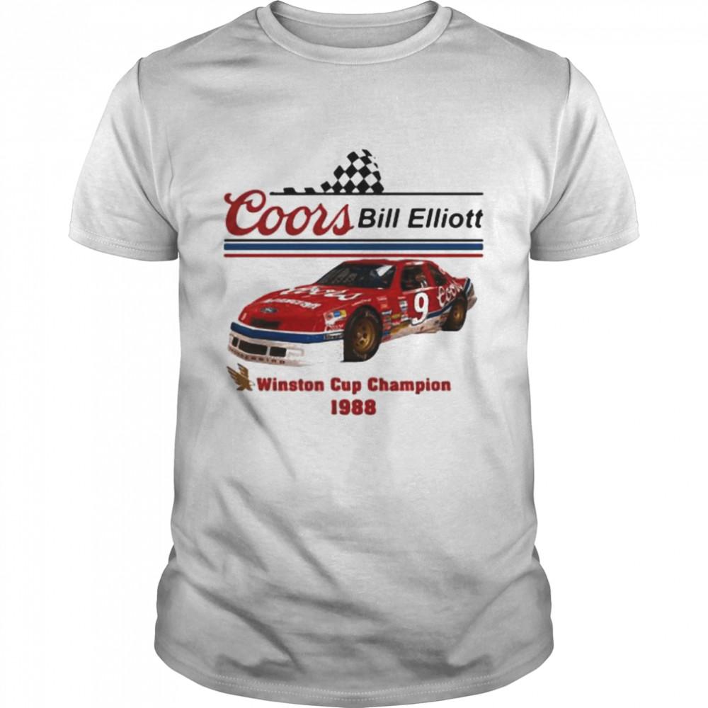 Coors Bill Elliott Winston Cup Champion 1988  Classic Men's T-shirt
